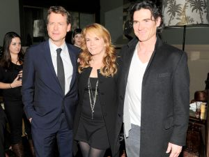 Greg Kinnear, Lea Thompson, Billy Crudup at 'Thin Ice' party (Patrick McMullan)