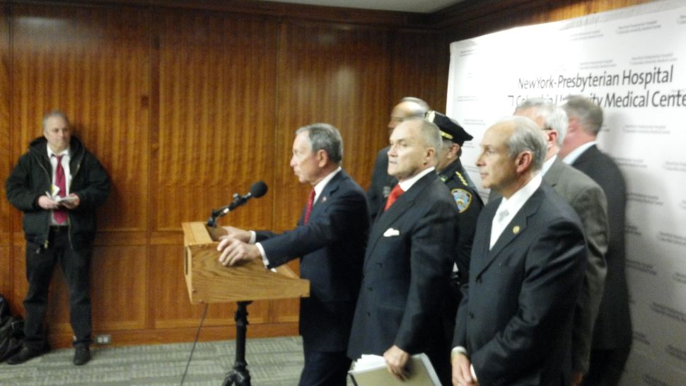 After Police Shooting, Mayor Bloomberg Calls On Congress To Fight Illegal Guns