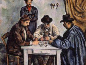 The Met's 'Card Players,' from 1890-92. (Metropolitan Museum of Art)