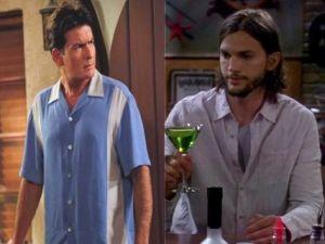 Charlie Sheen refuses to sip from Ashton's Appletini