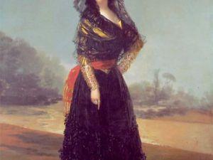 Goya's 'Duchess of Alba,' ca. 1797). (Courtesy HSA)