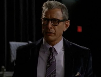 Jeff Goldblum Going to Broadway, Glee (Video)