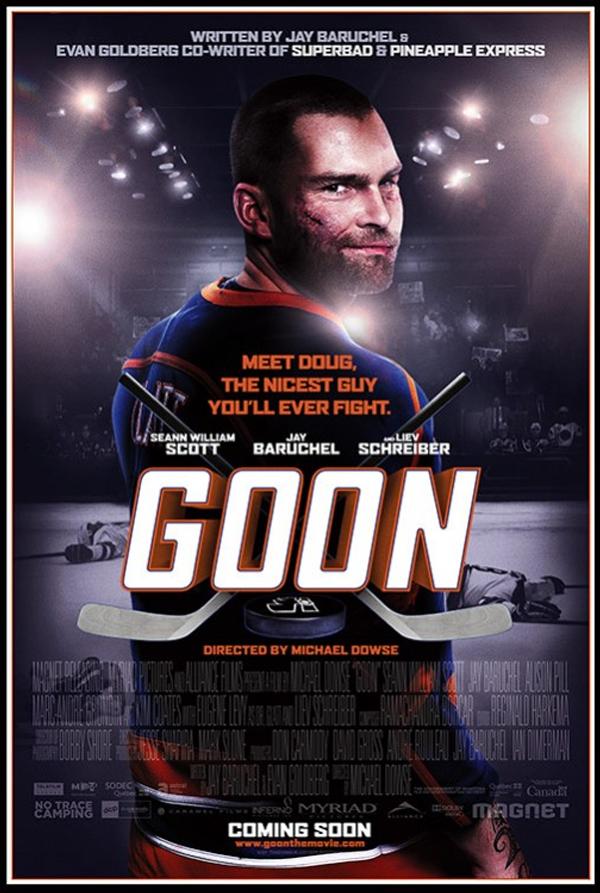 Goon Star Liev Schreiber Disagrees on Hockey Brain Damage