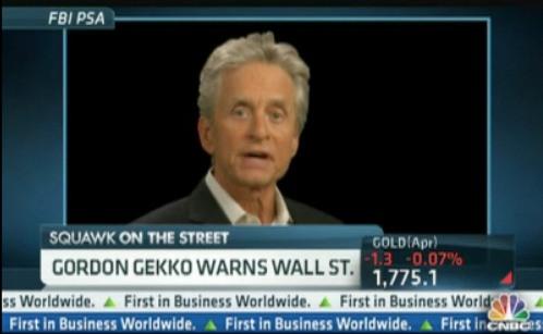 Greed Is Not 'Good' Says Gekko (Video)