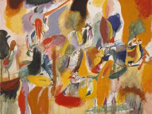 """Water of the Flowery Mill"" (1944) by Arshile Gorky. (Courtesy Metropolitan Museum of Art)"