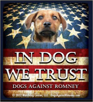 Dogs Against Romney Asks: 'Should We Have a President Who Isn't Even Qualified To Adopt a Pet?'