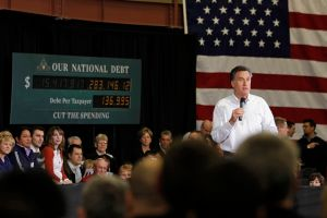 The clock is ticking for Mitt Romney. (Getty)