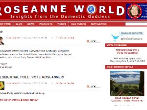 RoseanneWorld.com (screengrab)