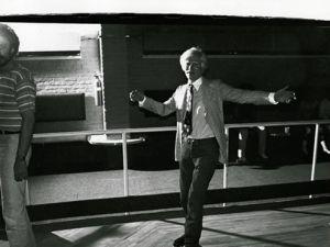 'Andy Warhol (Roller Skating),' (ca. 1979).