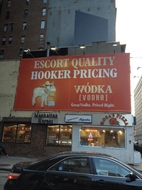 Wodka Vodka Continues its Offensive Ad Campaign