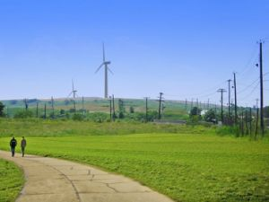 Public park? Wind farm? Both!