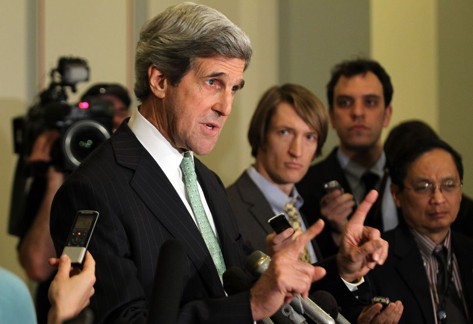 John Kerry Slams GOP For 'Ideological Extremism' And 'Traveling Reality Gong Show' Primary