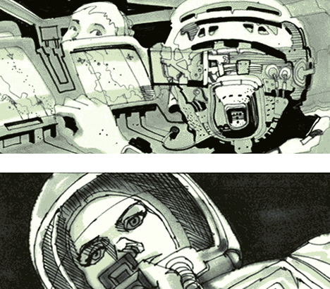 Otherworldly Illustrations For The Films Of Ridley Scott