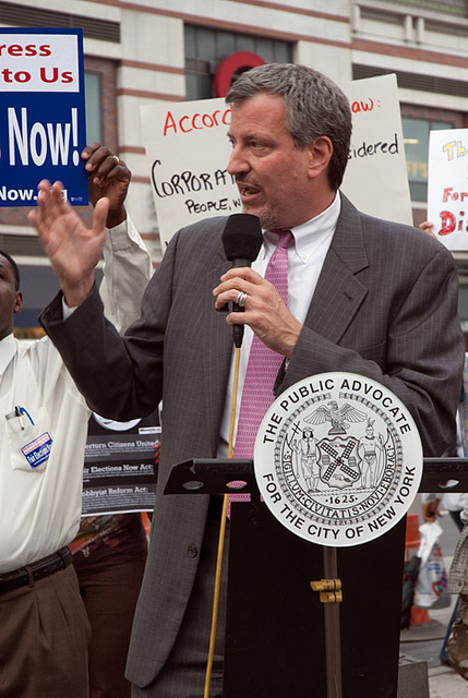Bill de Blasio Expected to Officially Launch Mayoral Campaign This Weekend