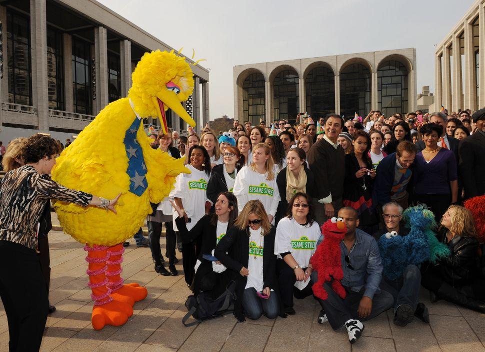 Big Bird is the Dorian Gray of Sesame Street