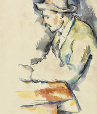 """""""A Card Player"""" (1892-96) courtesy the New York Times and Christie's Images"""