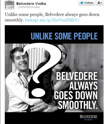 Who is Responsible for Belvedere Vodka's Sexist Ad?