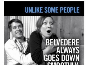 Belvadere's blowjob ad blows up on Twitter