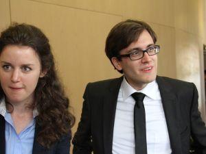Diana Schneider and Johannes Lechner of Cityshare (Ben Weitzenkorn)