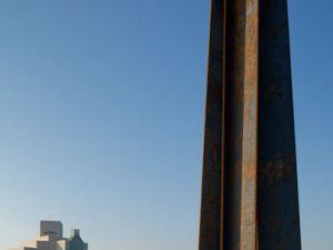 Richard Serra's '7' (2011) in Doha. (Courtesy QMA)