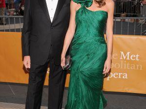 David Koch and his wife, Julia, at the 2011 Metropolitan Opera Season Opening Night.