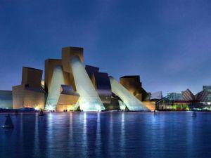 Proposed image of Guggenheim in UAE.