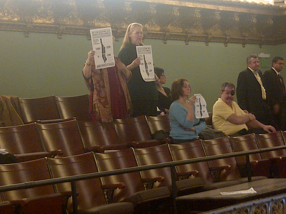 Hospital Protesters Hound Christine Quinn