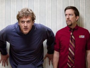 Jason Segel and Ed Helms in 'Jeff Who Lives At Home'