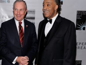Michael Bloomberg and Al Sharpton (Photo: Getty)