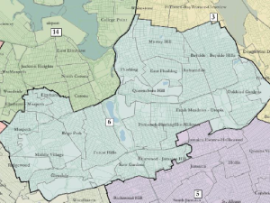 New York's new 6th Congressional District, should the court's draft hold.