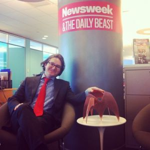 Newsweek's Book Beast got one too! (image via moneyries.tumblr.com)