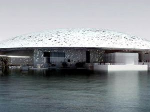 A rendering of the Louvre Abu Dhabi. (Courtesy Nouvel Ateliers)