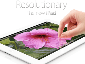 The worst product on the market, the new iPad. (apple.com)