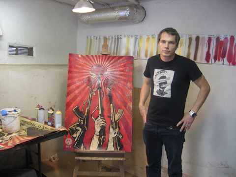 Street Art Star Shepard Fairey Wanted on Destruction of Property Charges in Detroit