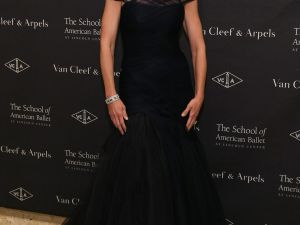 Diana DiMenna at the School of American Ballet's Winter Ball