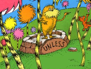 The Lorax.