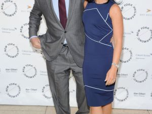 Alec Baldwin and fiancee Hilaria Thomas (Getty Images)