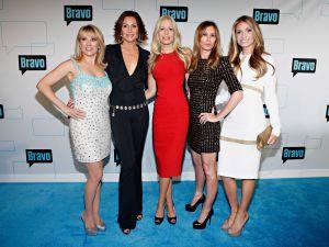 The RHONY cast: Ramona Singer, LuAnn de Lesseps, Aviva Drescher, Caroline Radzwill, and Heather Thomson (Getty Images)
