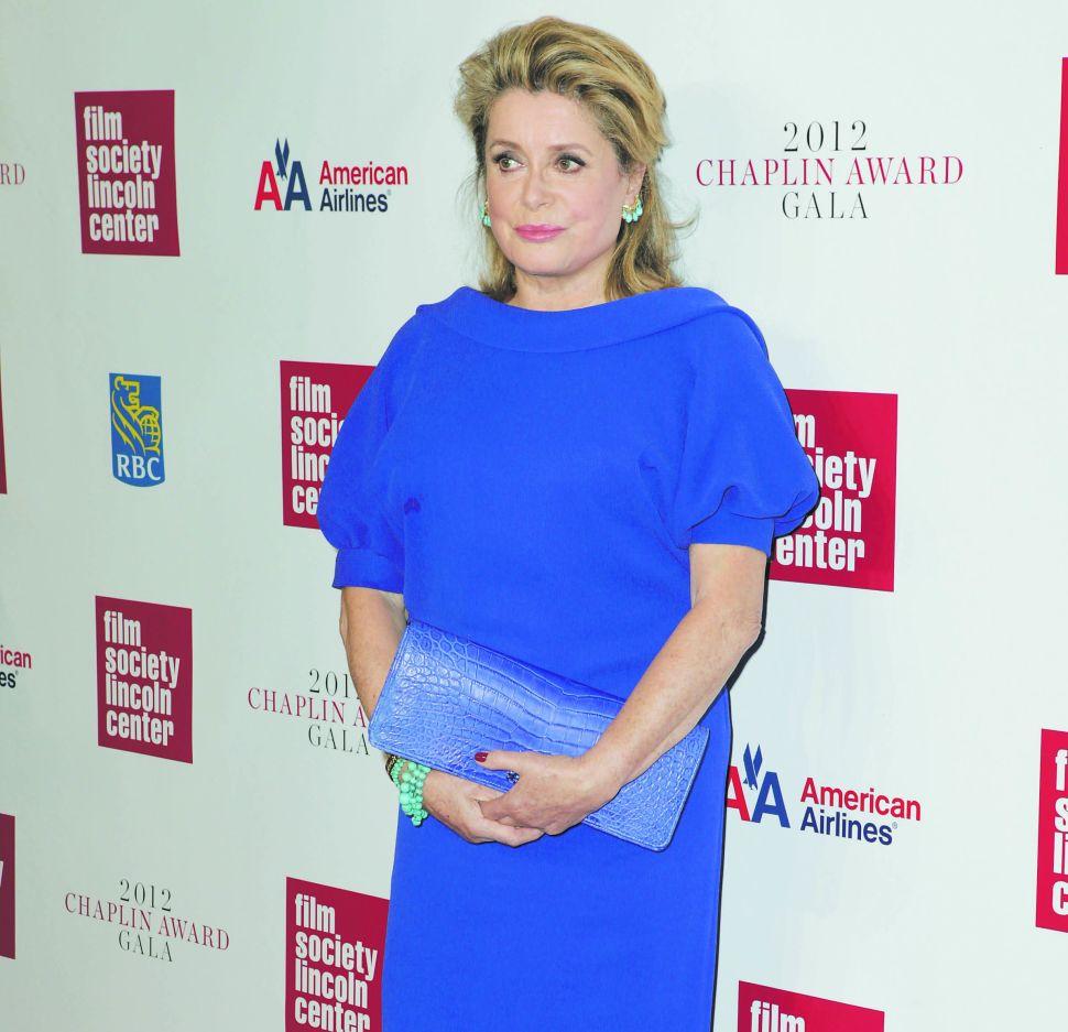 The Film Society of Lincoln Center Honors Catherine Deneuve