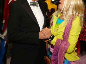 Mr. James and Betsey Johnson. (Courtesy Getty Images)