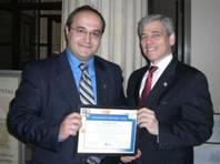 Ben Akselrod, left. (photo: metcouncil.org)