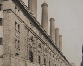 Full steam ahead! (Courtesy of New York Historical Society/Columbia)
