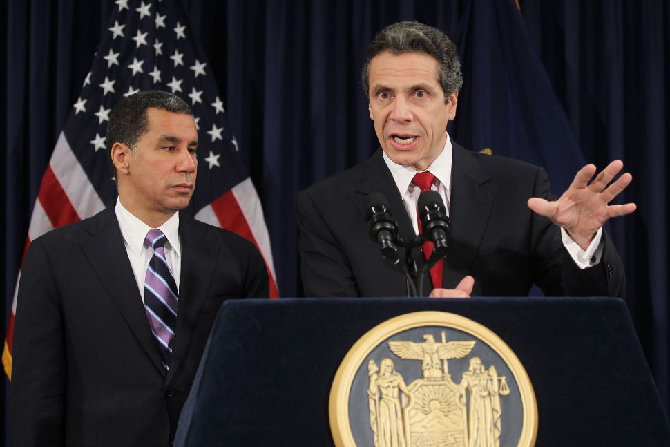 David Paterson Says Bill de Blasio Is 'Intellectually Dishonest' on Tax Hike
