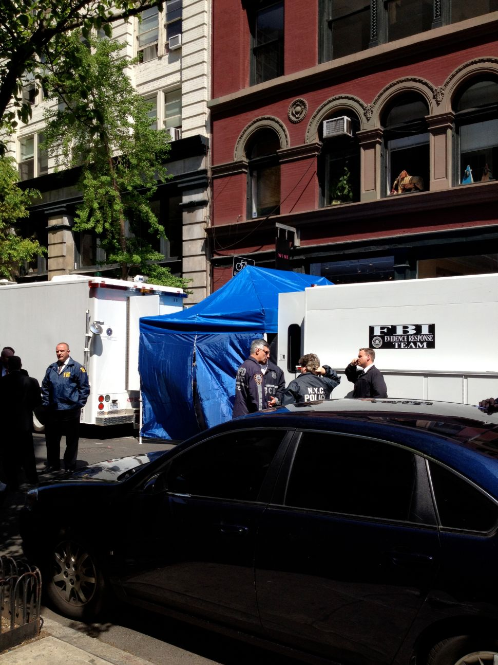 FBI and NYPD Dig Up SoHo Searching For Remains In 32-Year-Old Case of Missing Child