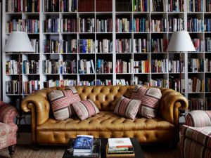 Flipping through the pages counts as reading! (Courtesy of House Beautiful)