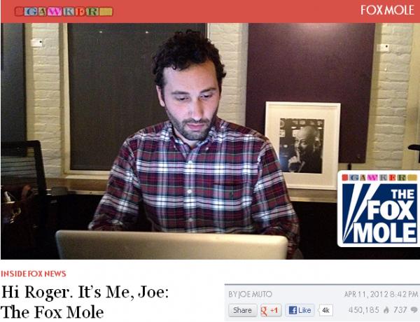 Has The Fox Mole Really Been Blackballed from Media Jobs?