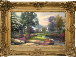 """""""Living Waters"""" by Thomas Kinkade (Getty Images)"""