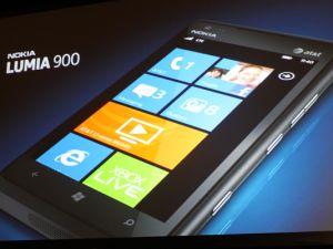 The Nokia Lumia 900.