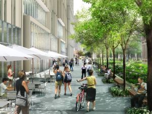 Greenberg Traurig goes to bat for NYU's greenspace. (NYU)