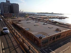 The field house will occupy this site! (Courtesy of the New York Times)